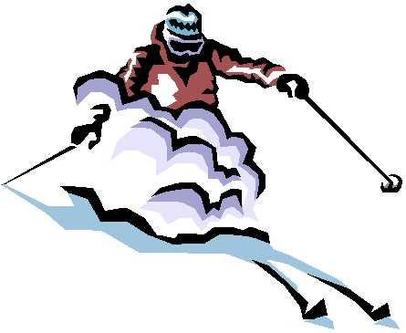 лыжи клипарт: